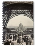Paris Exposition, 1889 Spiral Notebook