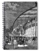 Paris: Exposition Of 1867 Spiral Notebook