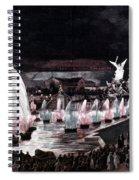 Paris: Fountains, 1889 Spiral Notebook