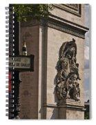 Paris Frame Of Mind Spiral Notebook