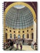 Paris: Halle Au Ble, C1785 Spiral Notebook