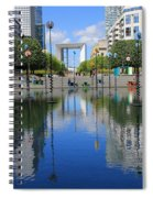 Paris La Defense 3 Spiral Notebook