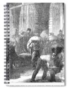 Paris: Les Halles, 1870 Spiral Notebook