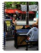 Paris Musicians 2 Spiral Notebook