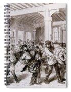Paris: Pawnbroker, 1868 Spiral Notebook