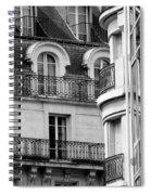 Paris Reflections 1 Spiral Notebook