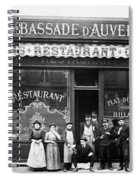 Paris: Restaurant, C1900 Spiral Notebook