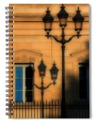 Paris Shadows Spiral Notebook
