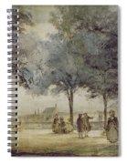 Paris: Tuilerie Gardens Spiral Notebook