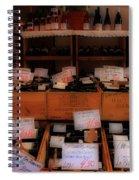 Paris Wine Shop Spiral Notebook