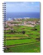 Parish In The Azores Spiral Notebook