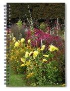 Parisian Park Morning Garden Spiral Notebook