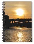 Parisian Sunset Spiral Notebook
