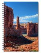 Park Avenue 2 Arches National Park Spiral Notebook