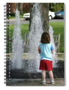 Childhood Waterpark Dreams Spiral Notebook