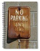 Park Here Spiral Notebook