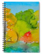 Park Impression Spiral Notebook