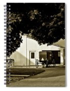 Parked Buggy - Lancaster Pennsylvania Spiral Notebook