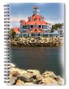 Parker's Lighthouse Charm Spiral Notebook