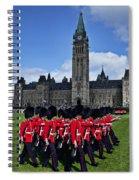 Parliament Building Ottawa Canada  Spiral Notebook