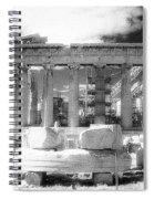 Parthenon Infrared Spiral Notebook