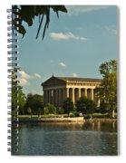 Parthenon At Nashville Tennessee 1 Spiral Notebook
