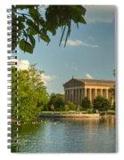 Parthenon At Nashville Tennessee 13 Spiral Notebook