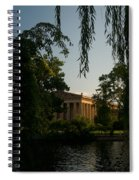Parthenon At Nashville Tennessee 14 Spiral Notebook