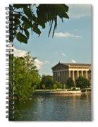 Parthenon At Nashville Tennessee 2 Spiral Notebook