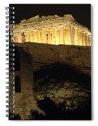 Parthenon Athens Spiral Notebook