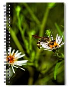 Party Flower Spiral Notebook