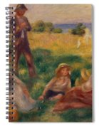 Party In The Country At Berneval Spiral Notebook