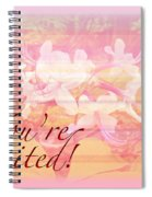 Party Invitation - General - Wild Azalea Blossoms Spiral Notebook