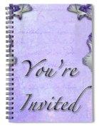 Party Invitation - General - Wild Iris - Blue Flag Spiral Notebook