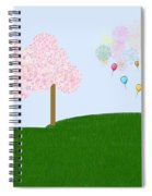 Party Over The Hill Spiral Notebook