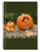 Party Pumpkin Spiral Notebook