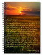 Pascal's Wager Spiral Notebook