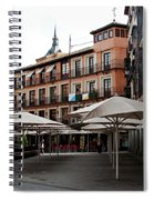 Passing By Zocodover Square Spiral Notebook