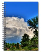 Passing Fantasy Island 55mph  Spiral Notebook