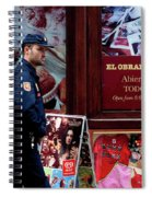 Passing Plaza Police Spiral Notebook