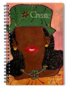 Passionate And Creative Spiral Notebook