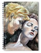Passionate Embrace Spiral Notebook