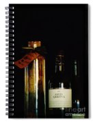 Pasta And Wine Spiral Notebook