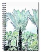 Pastel Palms Spiral Notebook