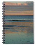 Pastel Reflections On The Coast Spiral Notebook