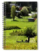 Pastoral Ease Spiral Notebook