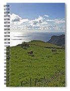 Pastoral Landscape Of Santa Maria Island Spiral Notebook