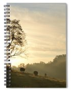 Pasture Sunrise Spiral Notebook