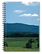 Pastureland Grazers Spiral Notebook