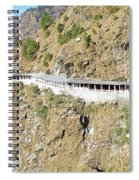 Path Leading To The Shrine Of Vaishno Devi Spiral Notebook